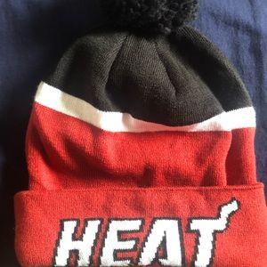 (Winter Sale) Adidas Miami Heat Beanie 🔥 Hat NBA
